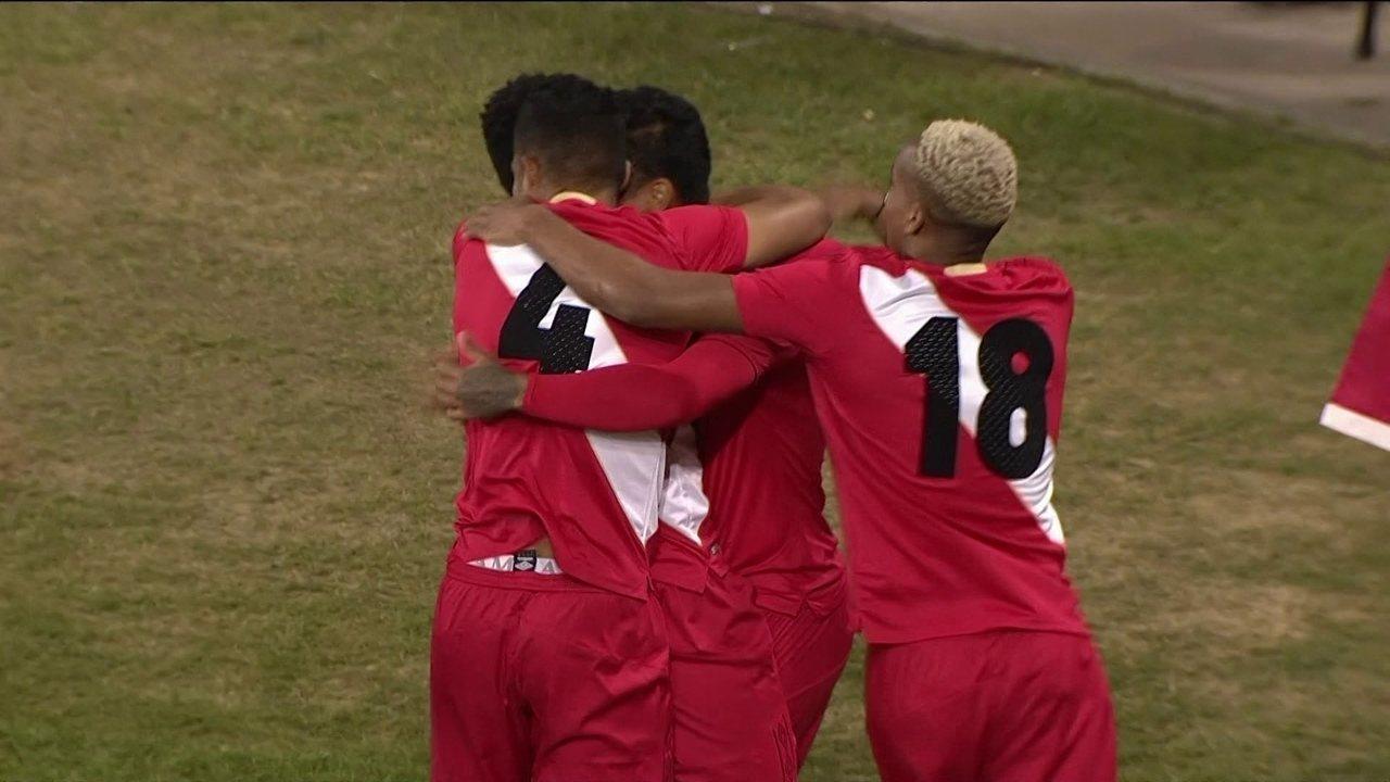 Os gols de Peru 3 x 1 Islândia em amistoso internacional