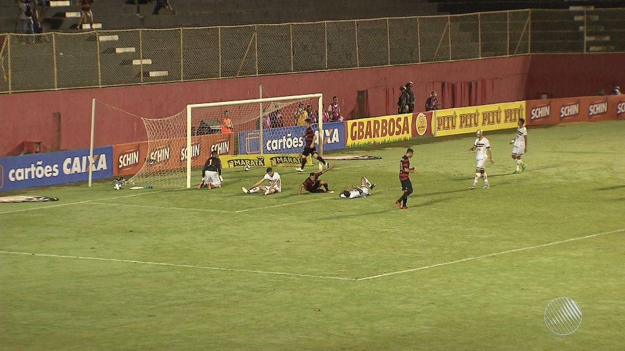 Vitória vence o Globo por 3 a 1 pela Copa do Nordeste