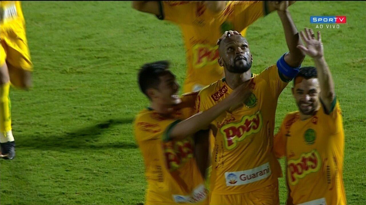 Os gols de Mirassol 1 x 1 Ponte Preta, pelo Troféu do Interior