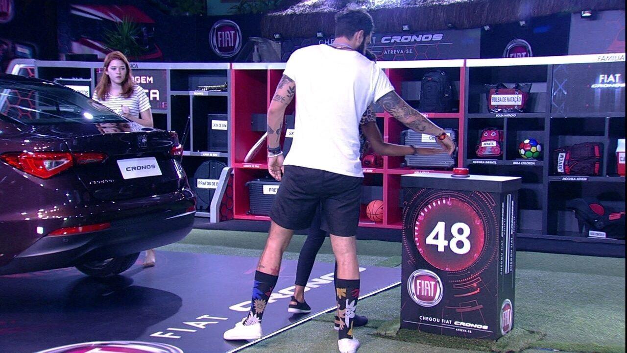 Brothers iniciam nova rodada da Prova do Líder Fiat Cronos Na Bagagem