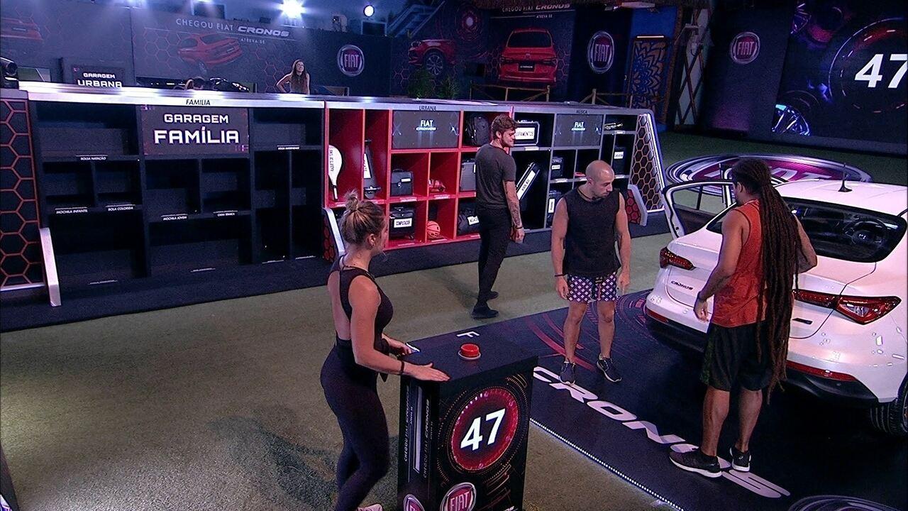 Confinados iniciam mais uma rodada da prova no Fiat Cronos Branco Alaska