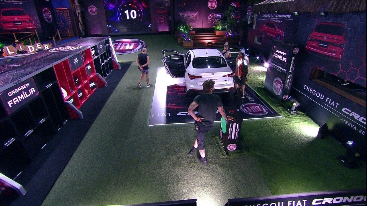 Kaysar, Jéssica, Breno e Viegas voltam para o carro após nova etapa da Prova