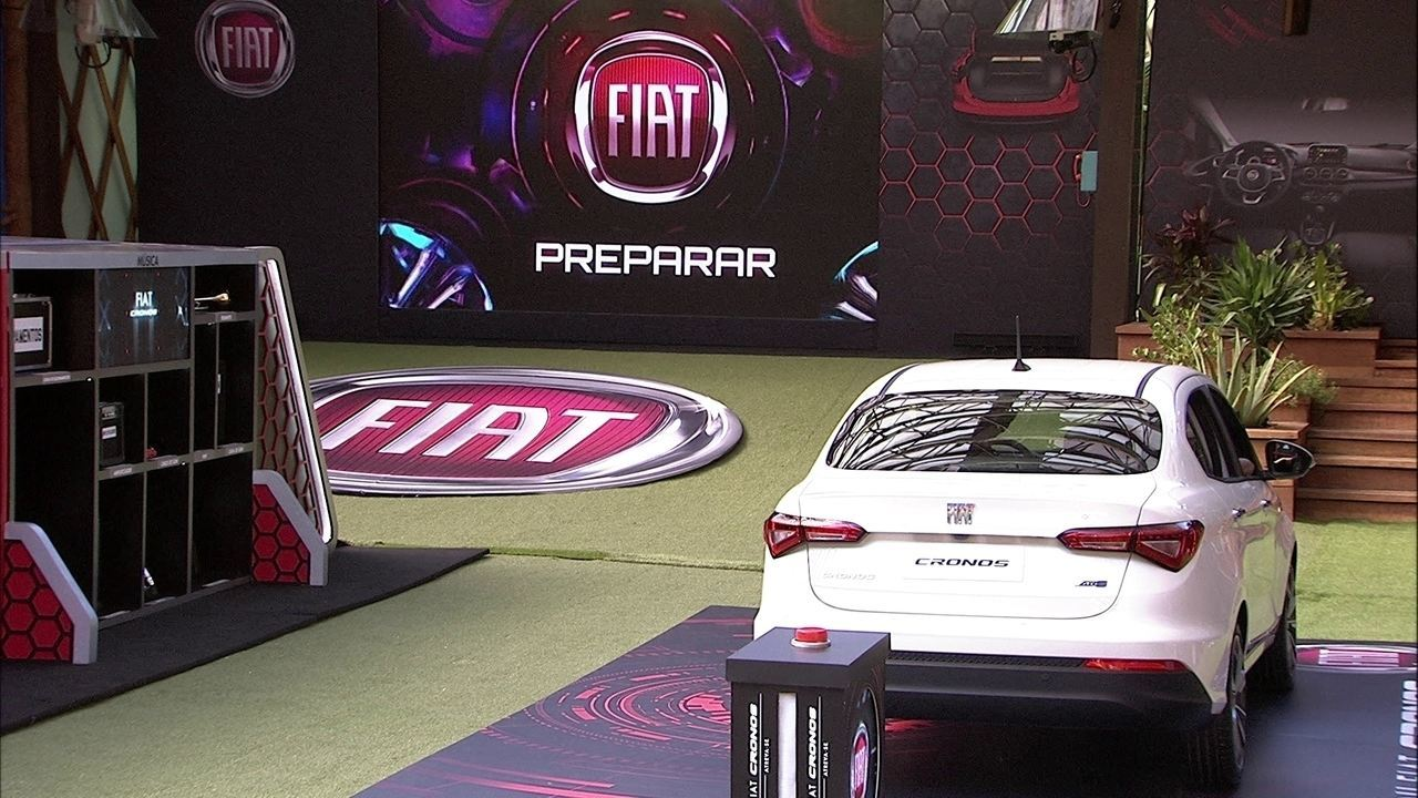 Com quatro brothers na disputa, Prova do Líder Fiat Cronos na Bagagem completa 15 horas