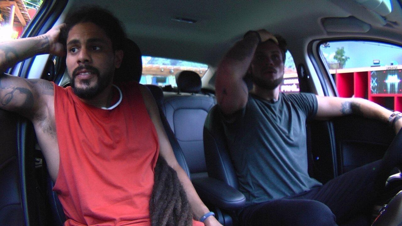 Breno e Viegas voltam para o Fiat Cronos Branco Alaska após cumprirem nova etapa da Prova