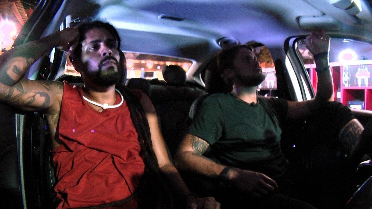 Breno e Viegas especulam sobre Prova do Líder Fiat Cronos na Bagagem