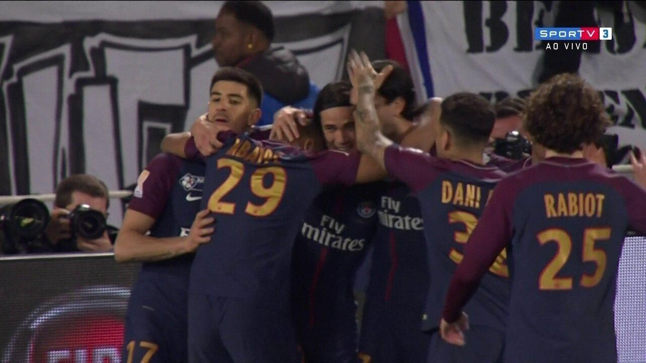 Os gols de PSG 3 x 0 Mônaco na final da Copa da Liga Francesa