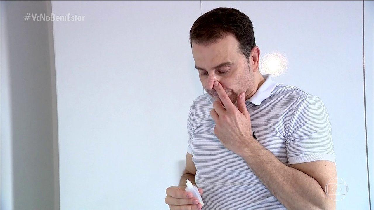 Bem Estar explica o que é a síndrome do nariz vazio