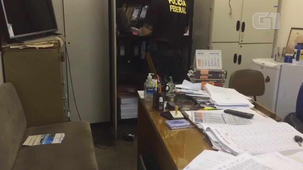 Titular de cartório é preso em operação da Polícia Federal