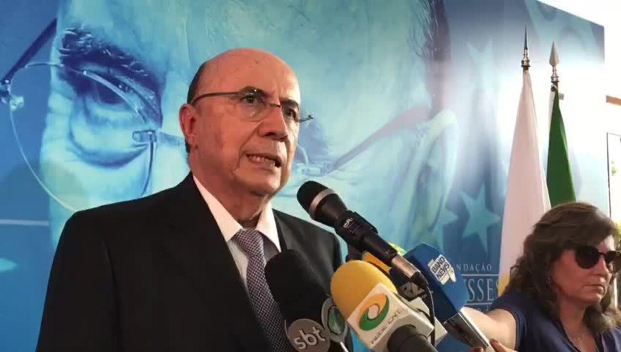 Após filiação ao MDB, Meirelles lembrou de sua gestão de oito anos à frente do Banco Central