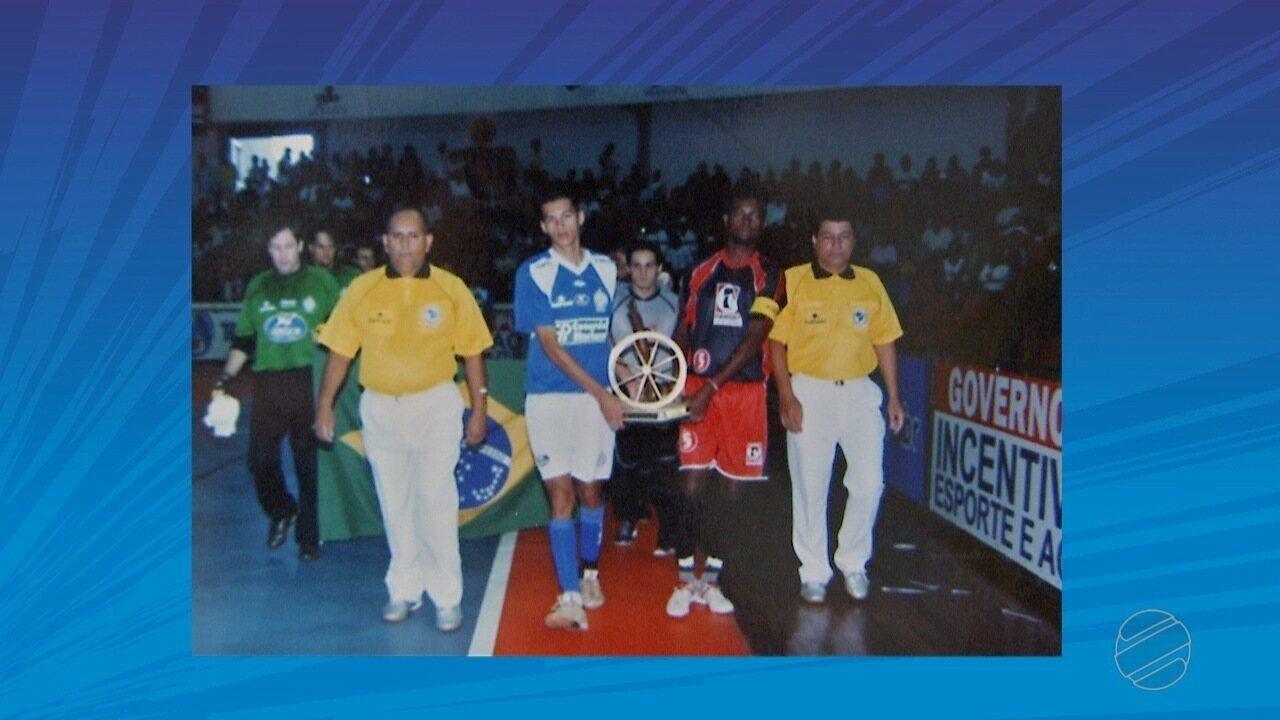 Árbitro participa da Copa Morena de Futsal há 35 anos