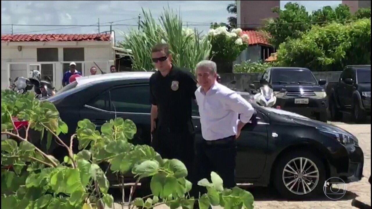 Resultado de imagem para Prefeito e cinco vereadores são presos em Cabedelo, PB