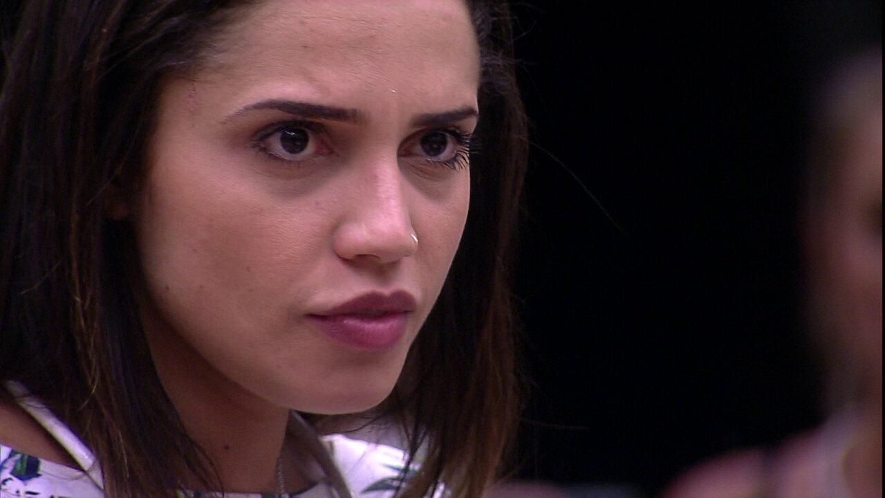 Paula opina sobre Viegas: 'Quando perde aliado, tenta entrar na mente de outra pessoa'