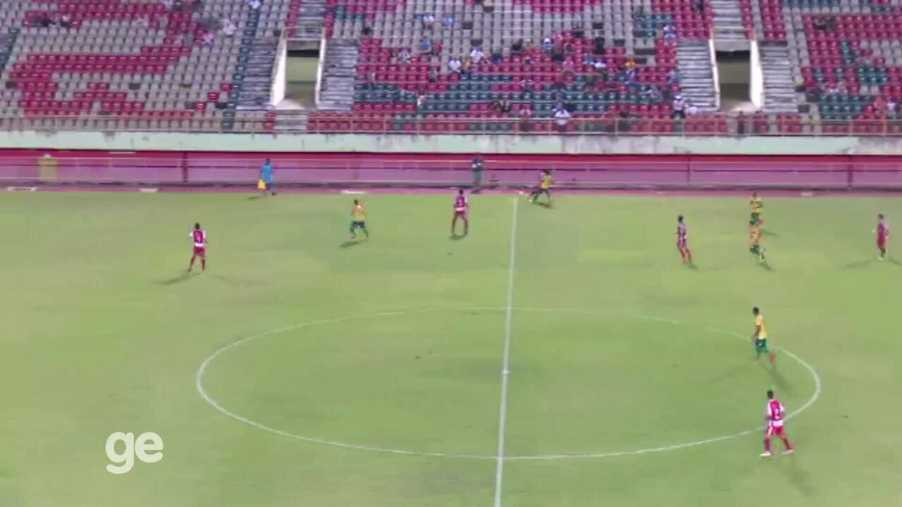 Veja os gols do empate entre Galvez e Rio Branco-AC, no primeiro jogo da final do Acreano'