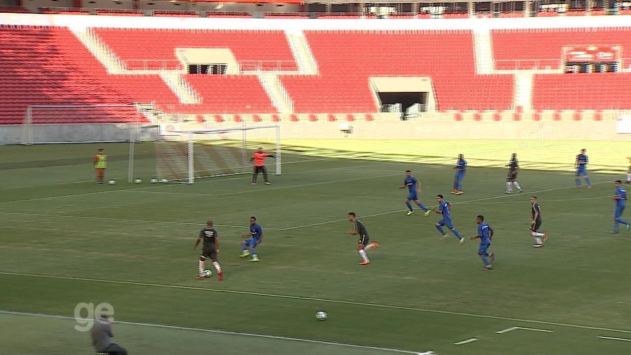 Inter empata em 1 a 1 com o São José em jogo-treino