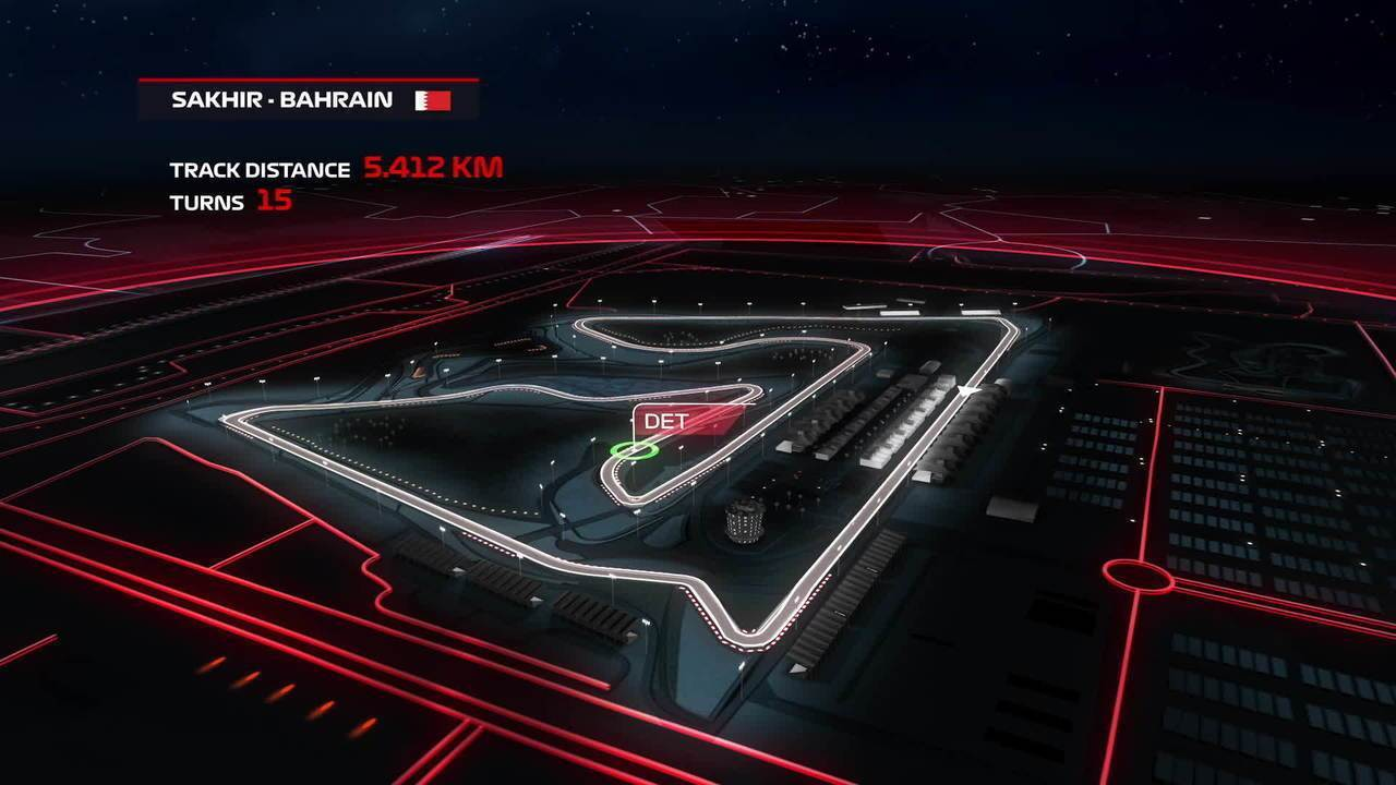 GP do Barein: assista ao guia oficial do circuito