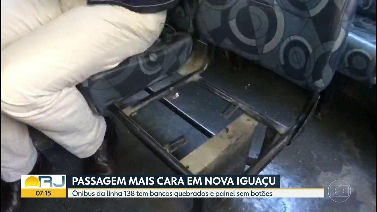 Passagem em Nova Iguaçu aumenta antes do previsto