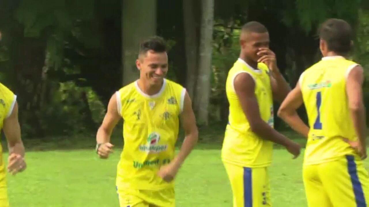 Recuperado, Polaco pode voltar na estreia na Série C; reforço, goleiro espera ficar 100%