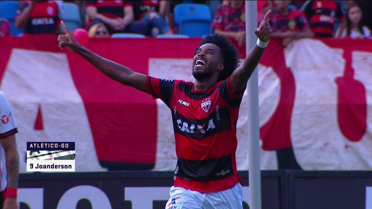 Joanderson marca contra o Flamengo; veja o gol!