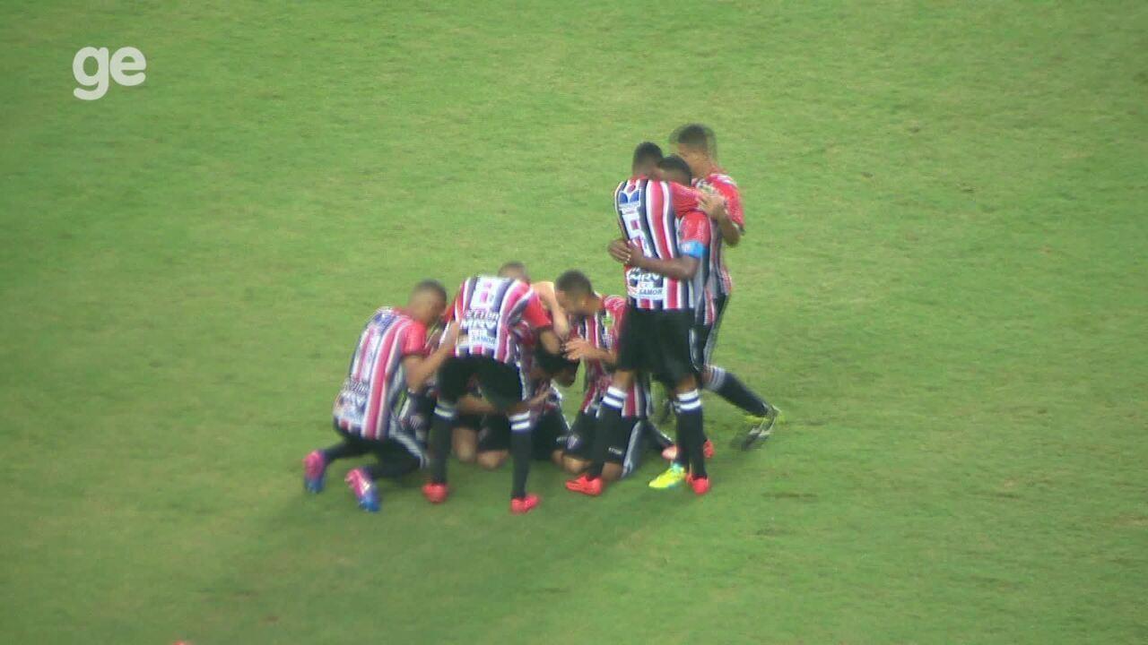 Os gols de Serra 3 x 4 Real Noroeste, pelo Campeonato Capixaba 2018