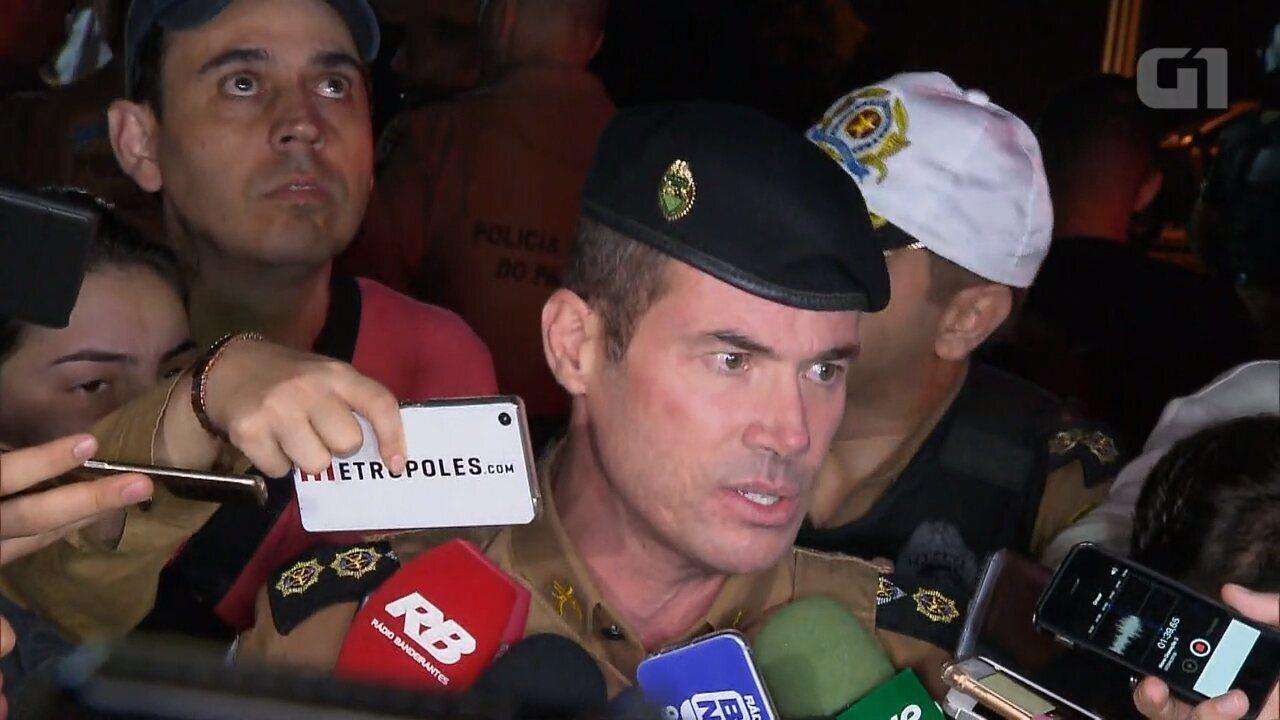 PM diz que primeiras bombas contra manifestantes partiram da Polícia Federal