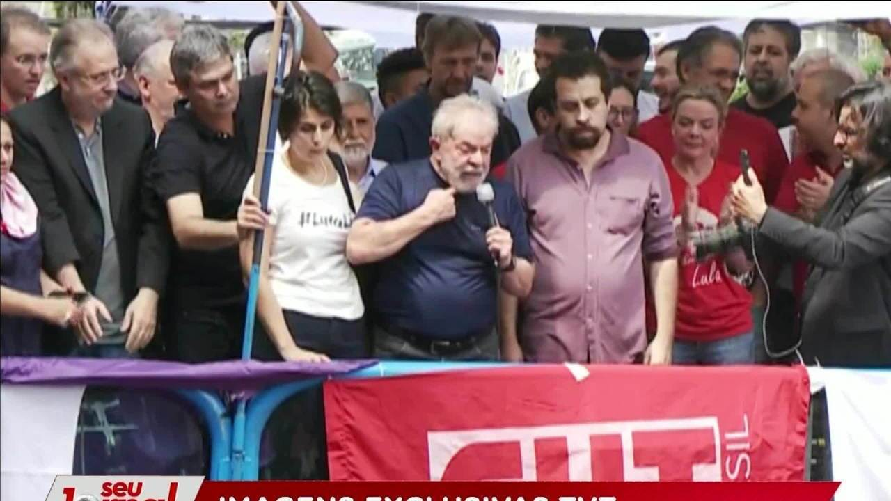 ÍNTEGRA: discurso de Lula no Sindicato dos Metalúrgicos antes de ser preso