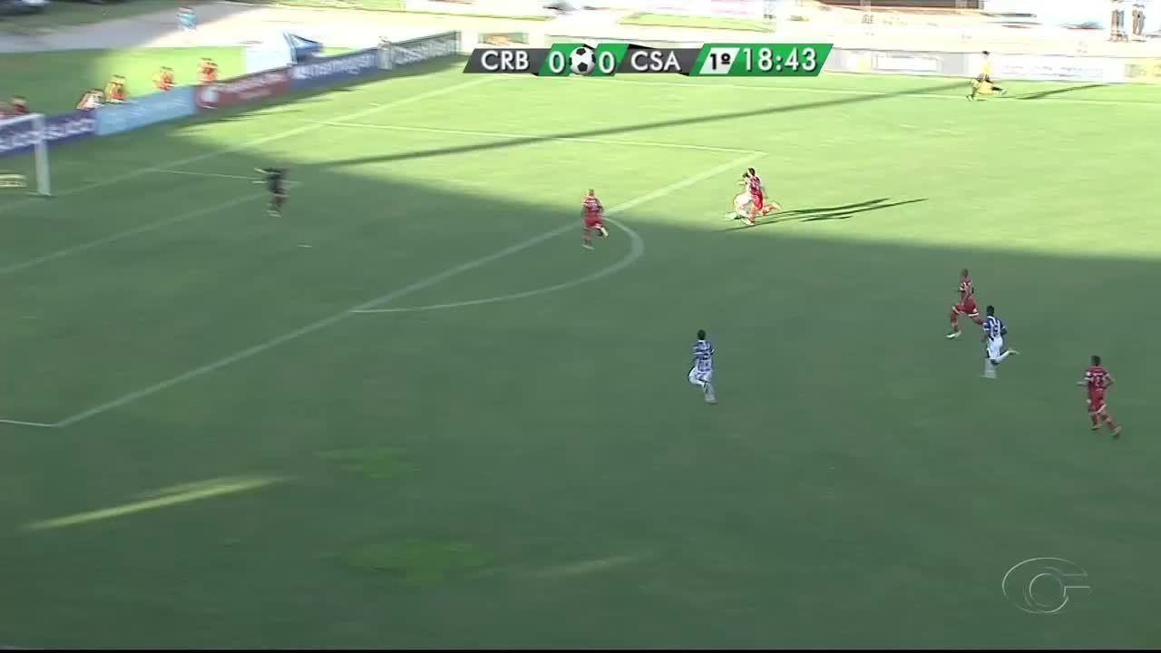 Os gols de CRB 0 x 2 CSA pela final do Campeonato Alagoano