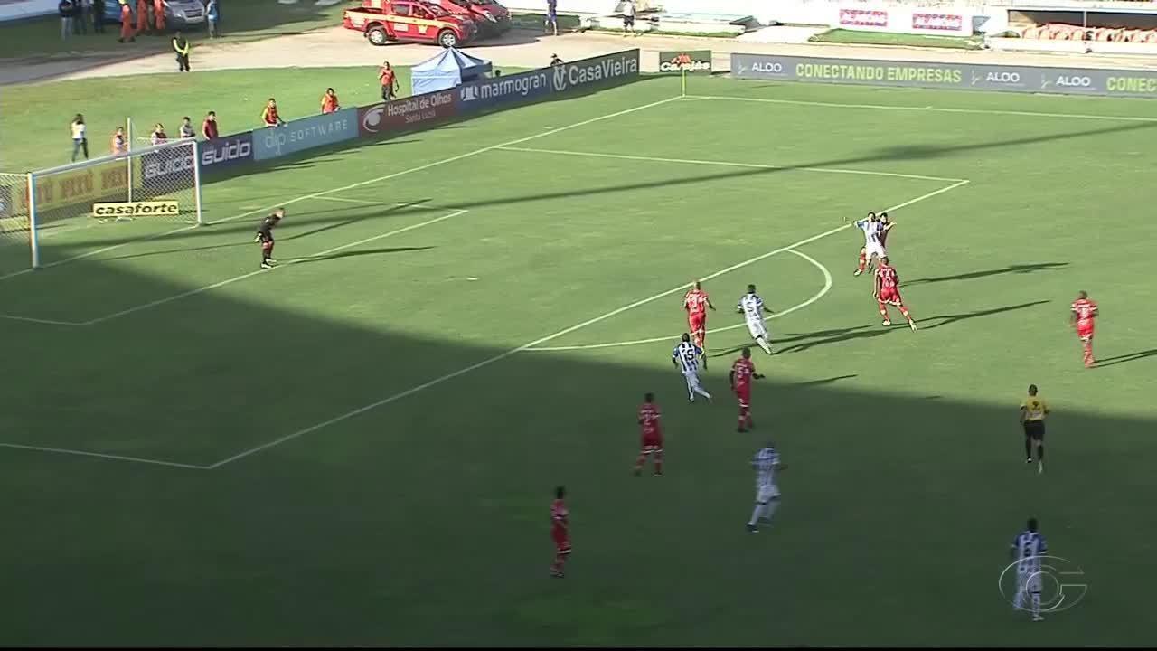 Melhores momentos: CRB 0x2 pela final do Campeonato do Alagoano