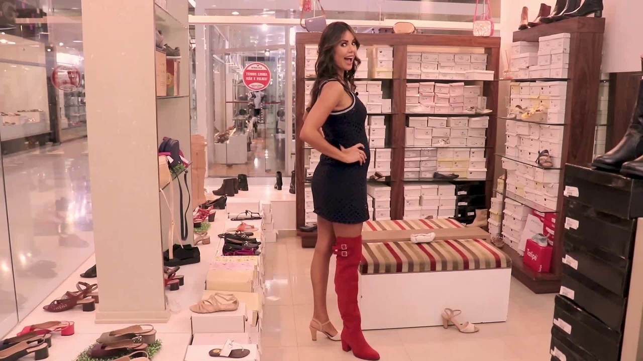 Modelo Bruna Ramos Del Nero participa de websérie do Shopping Território do Calçado