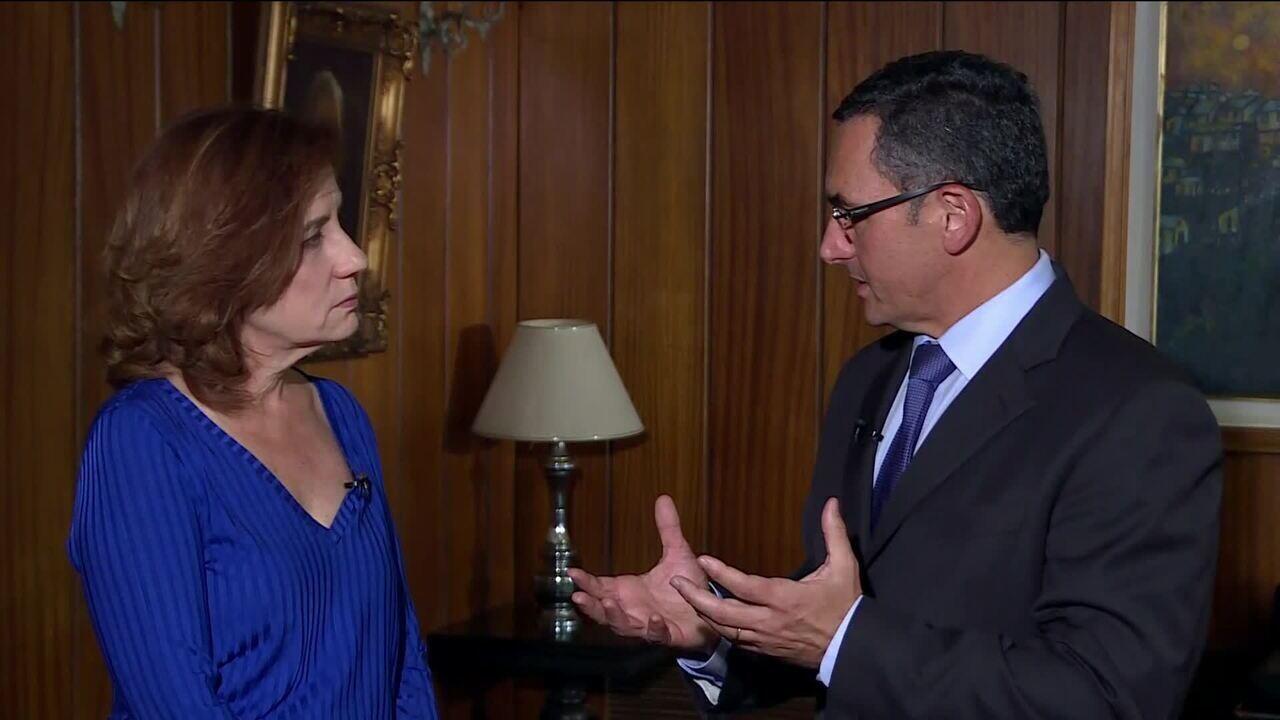 Miriam Leitão entrevista o novo ministro da Fazenda