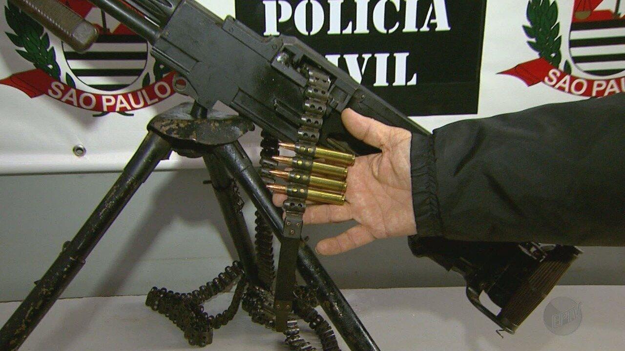 Polícia Civil apreende fuzil avaliado em R$ 300 mil em Ribeirão Preto, SP