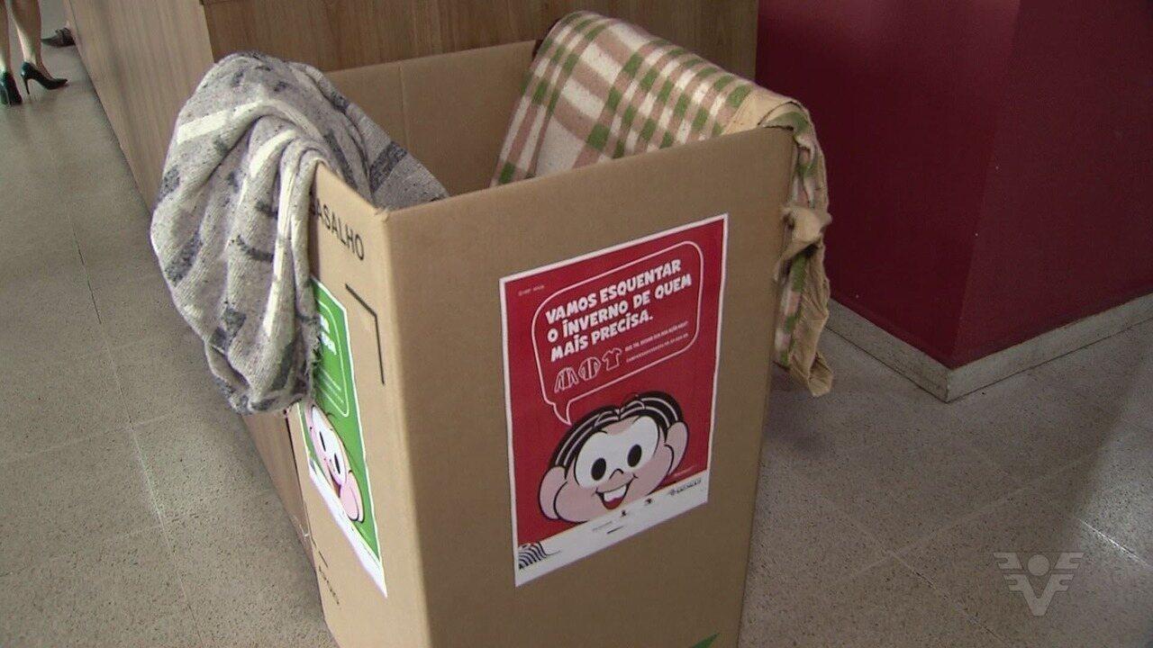 Poupatempo já recebe doações de agasalhos para o inverno