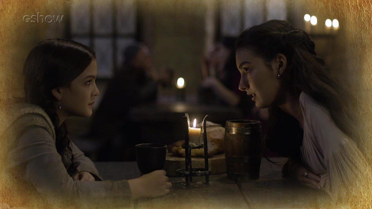 Resumo de 16/04: Selena e Agnes decidem ajudar Afonso e Amália, na floresta