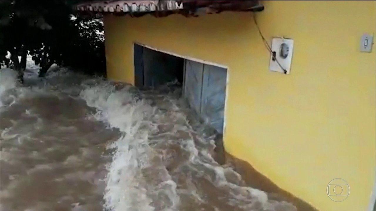 Chuva forte provoca estragos em pelo menos 15 cidades do Maranhão