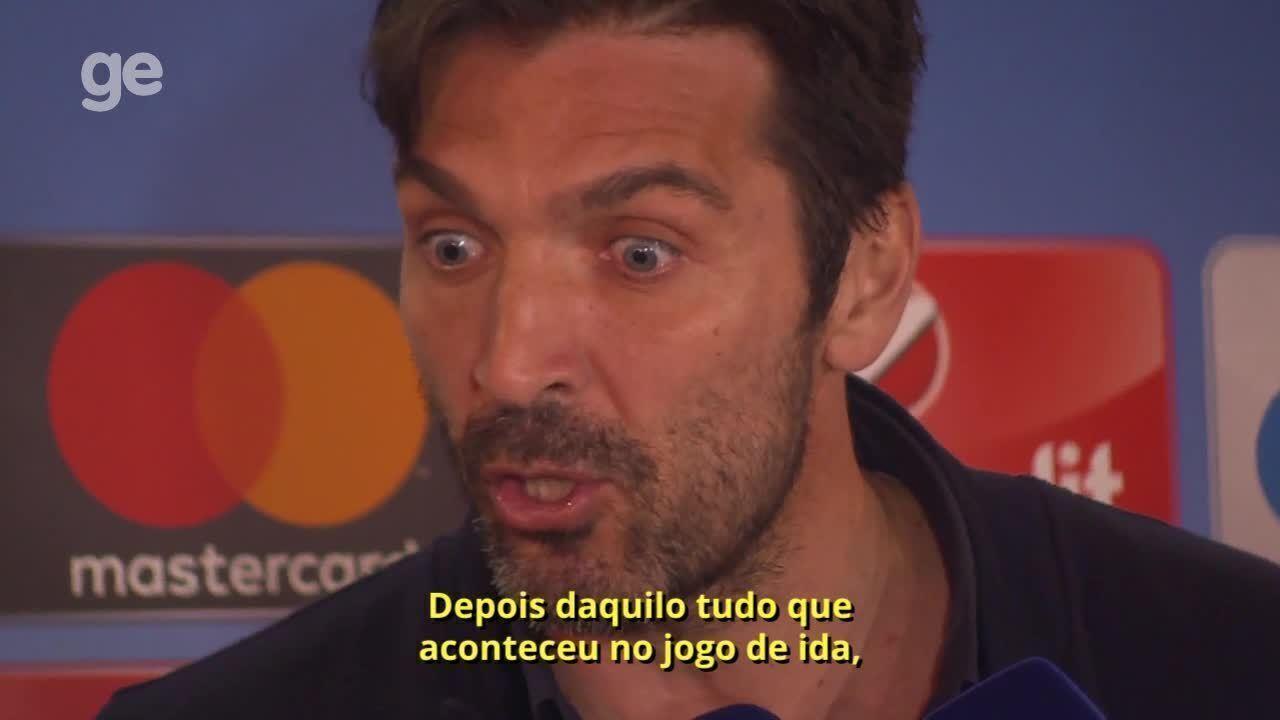 Buffon faz duras críticas ao árbitro da partida entre Juve e Real: