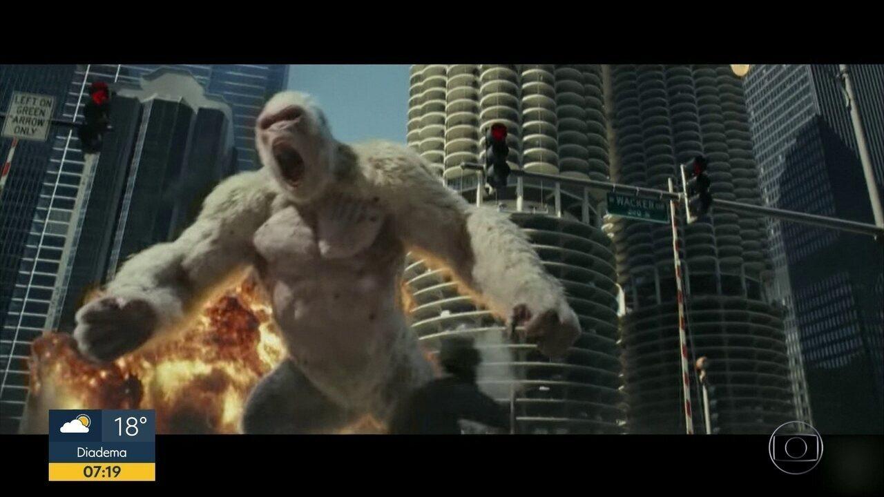 Destruição Total: Crítica | Rampage