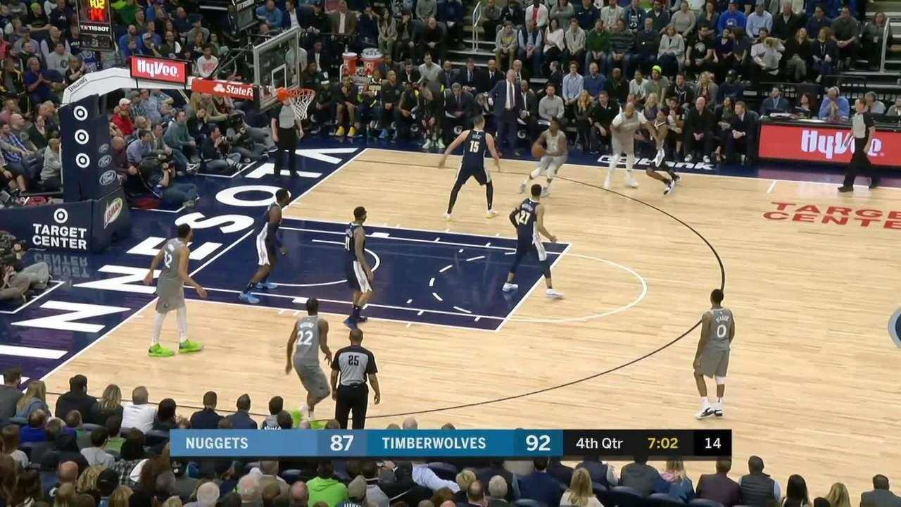 Melhores momentos: Denver Nuggets 106 x 112 Minnesota Timberwolves pela NBA