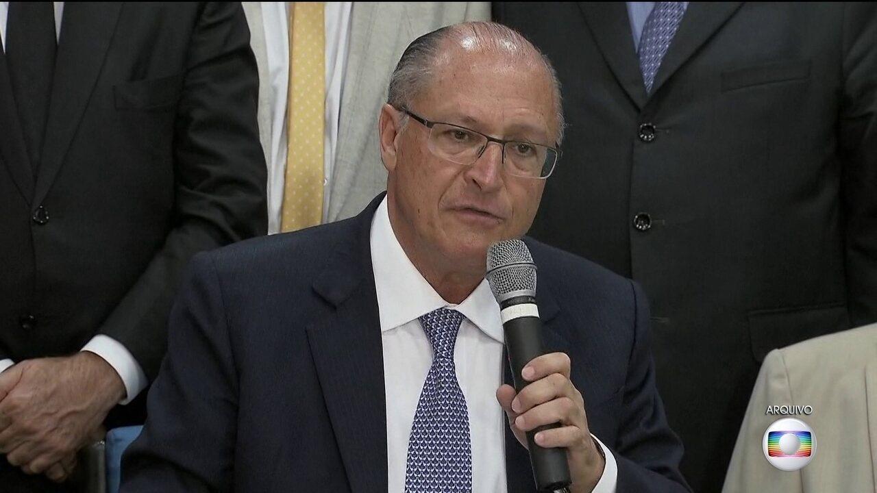 Inquérito sobre Geraldo Alckmin vai parar na Justiça Eleitoral