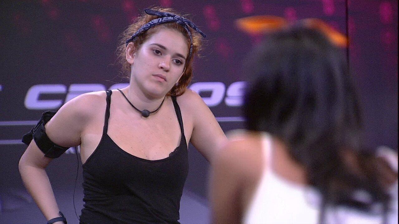 Gleici para Ana Clara: 'Está passando mal de novo?'