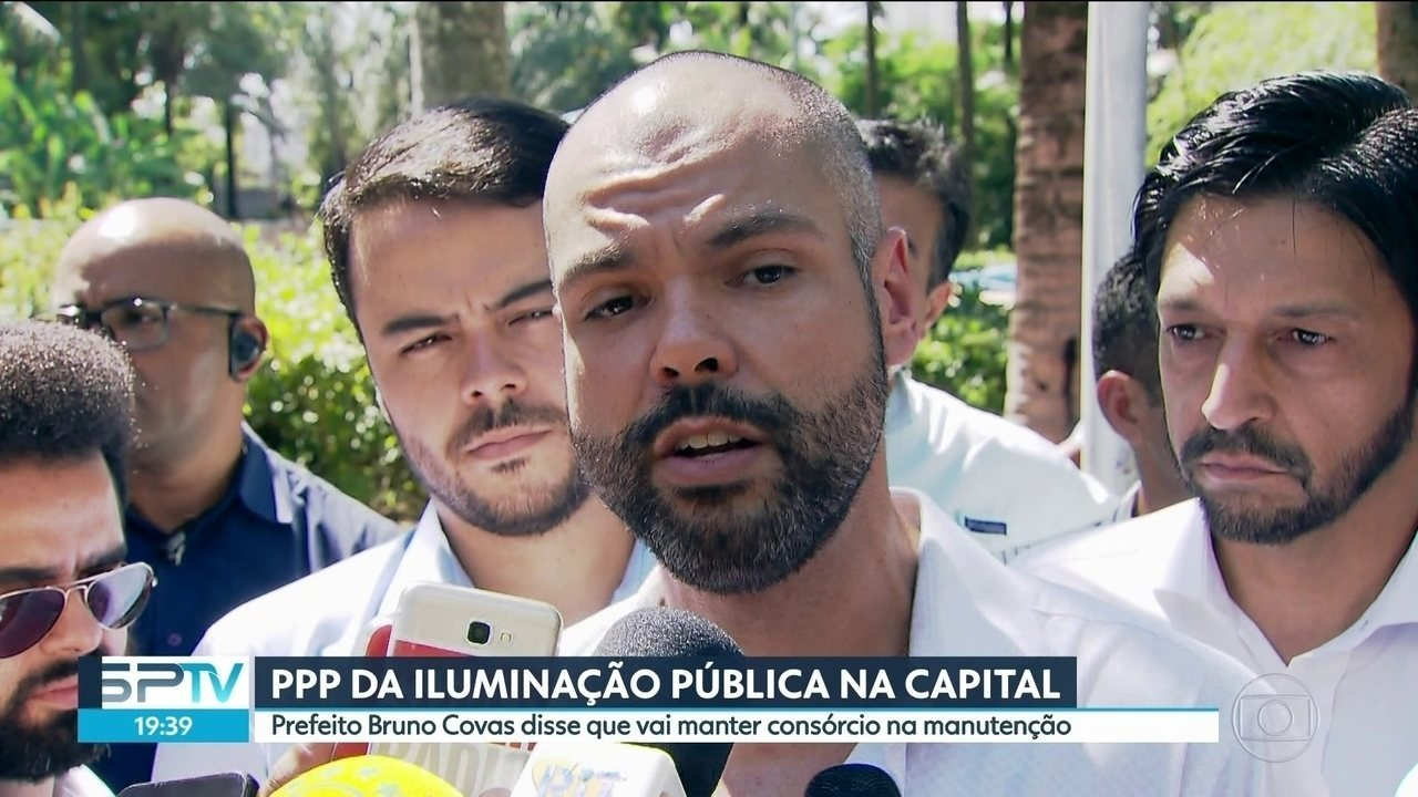 Prefeito Bruno Covas diz que vai manter consórcio na manutenção