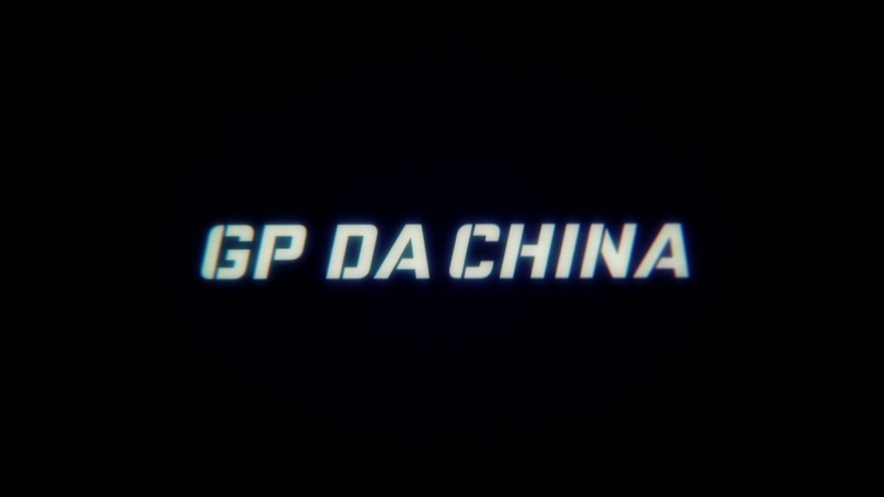 Chamada Grande Prêmio de Fórmula 1 da China