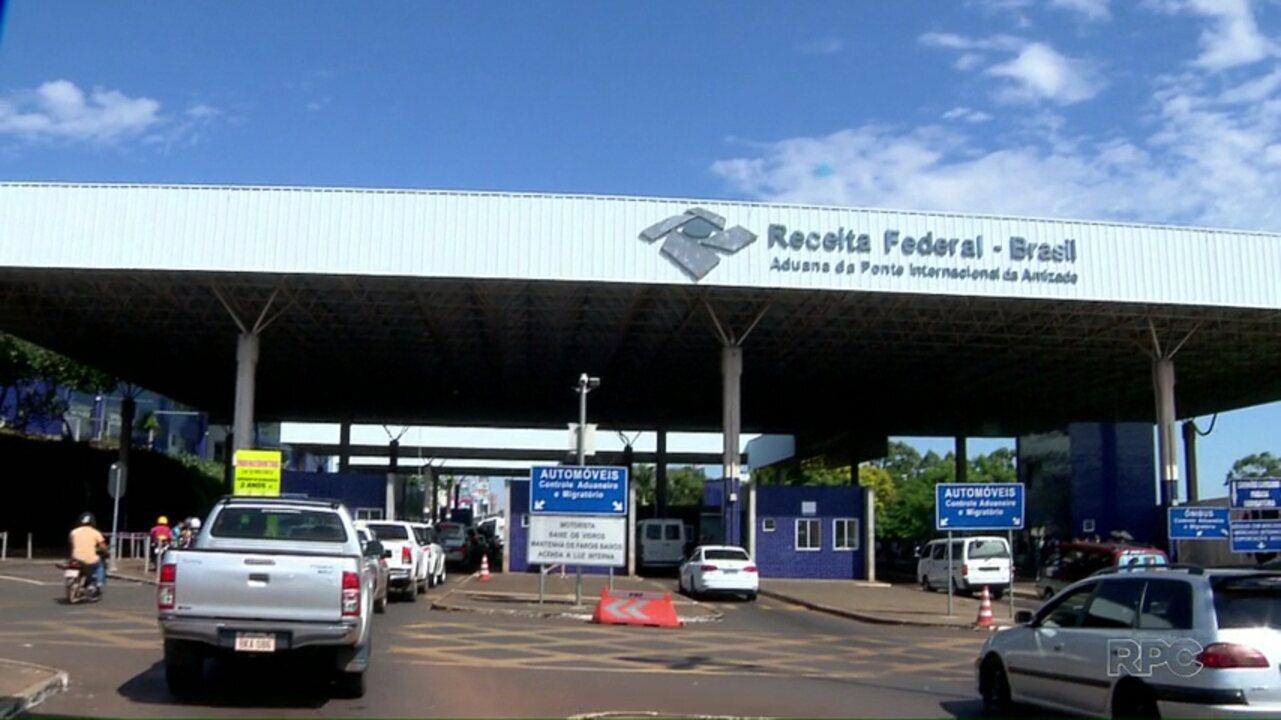Receita Federal apreende bolsas de plasma na fronteira