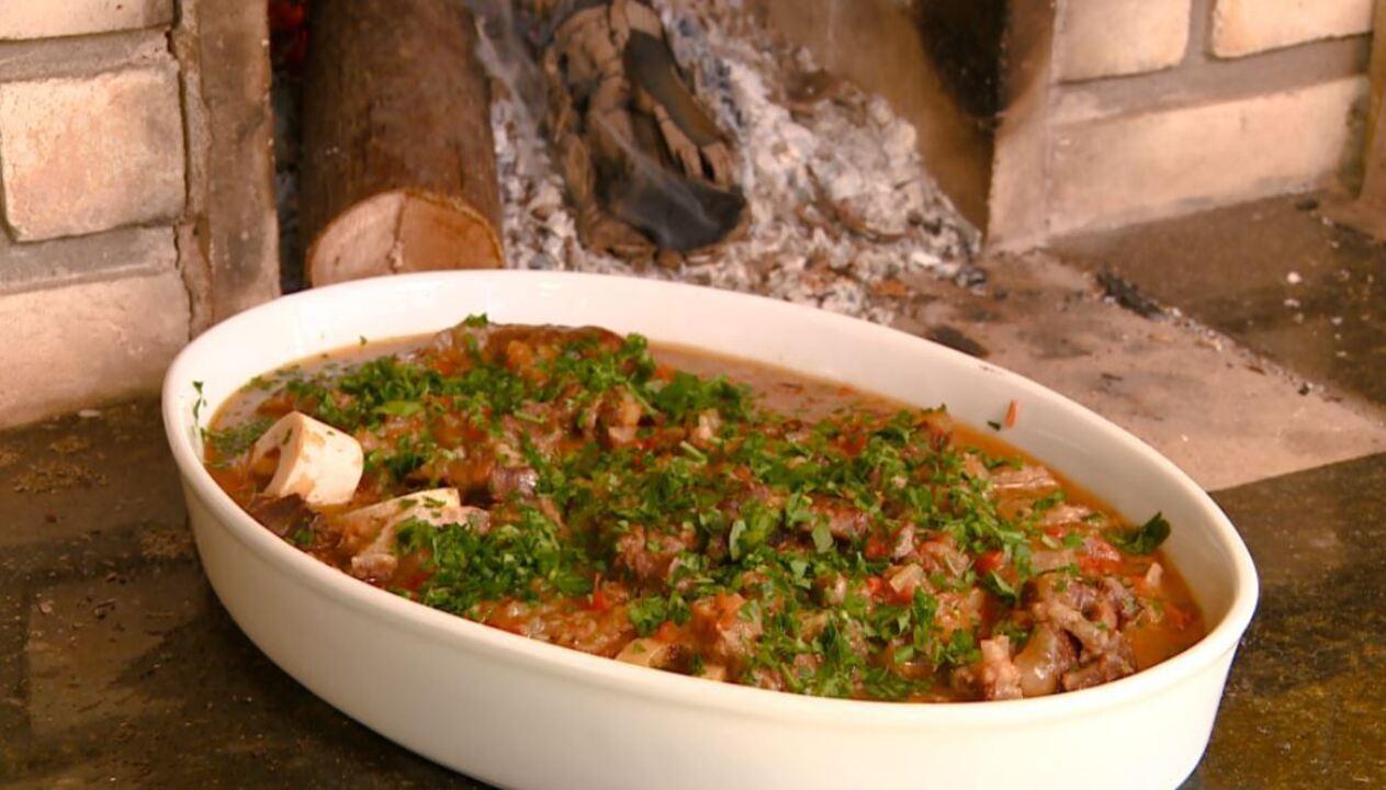 Ossobuco é receita típica italiana