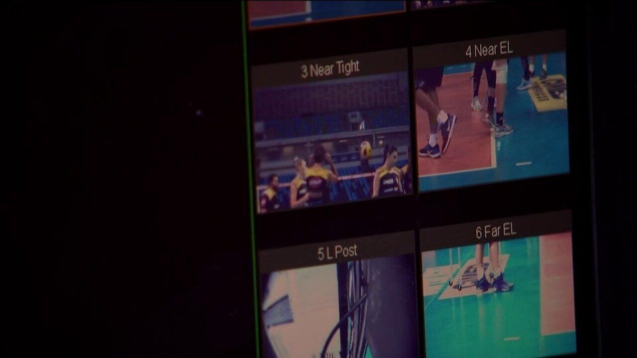 Saiba como vai funcionar o sistema de câmeras na final da Superliga de vôlei feminino