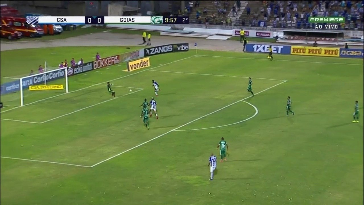 Veja os melhores momentos do jogo entre CSA e Goiás