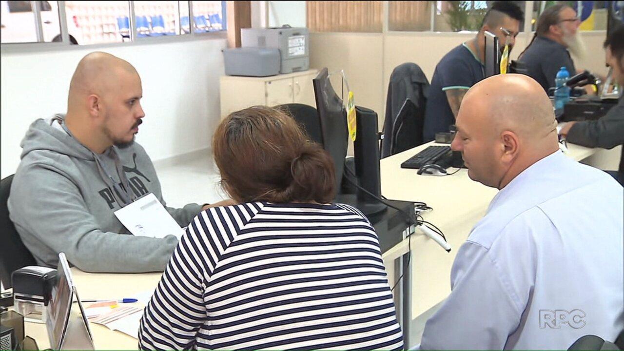 Serviços do Detran de São José dos Pinhais passaram a ser realizados com agendamento prévio