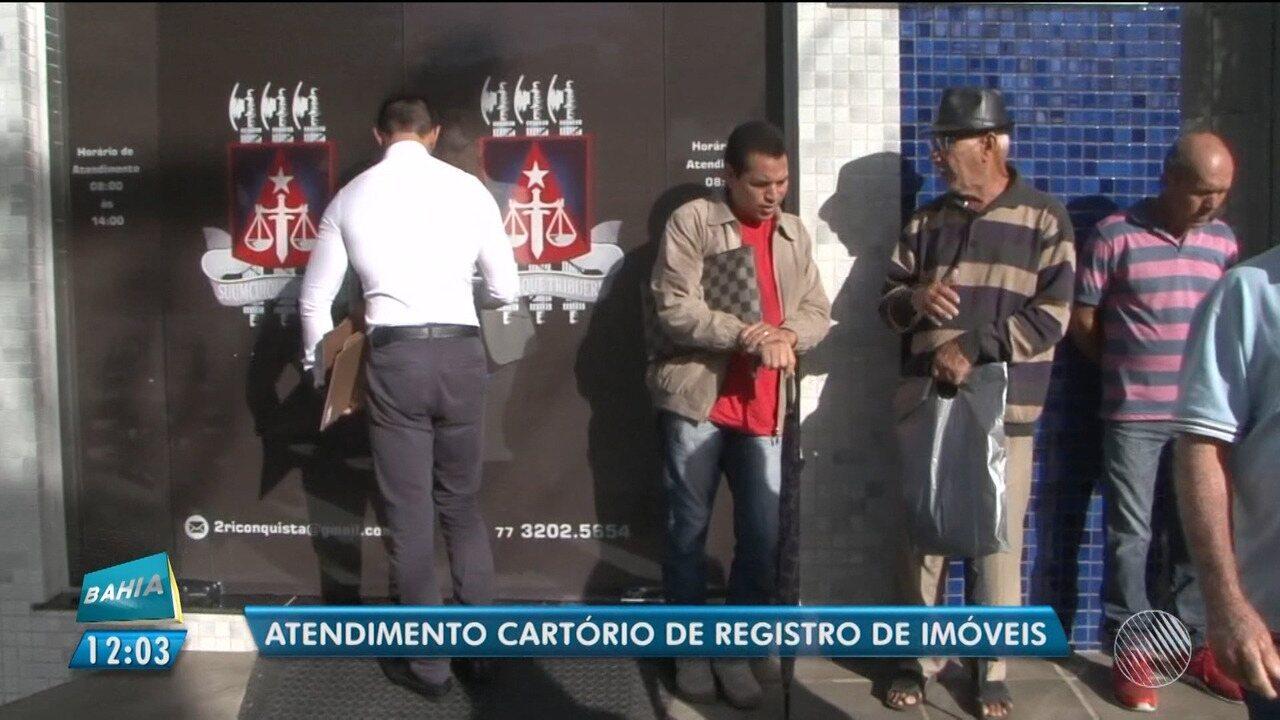 Cartório do 2º ofício começa atender serviços do primeiro ofício em Vitória da Conquista