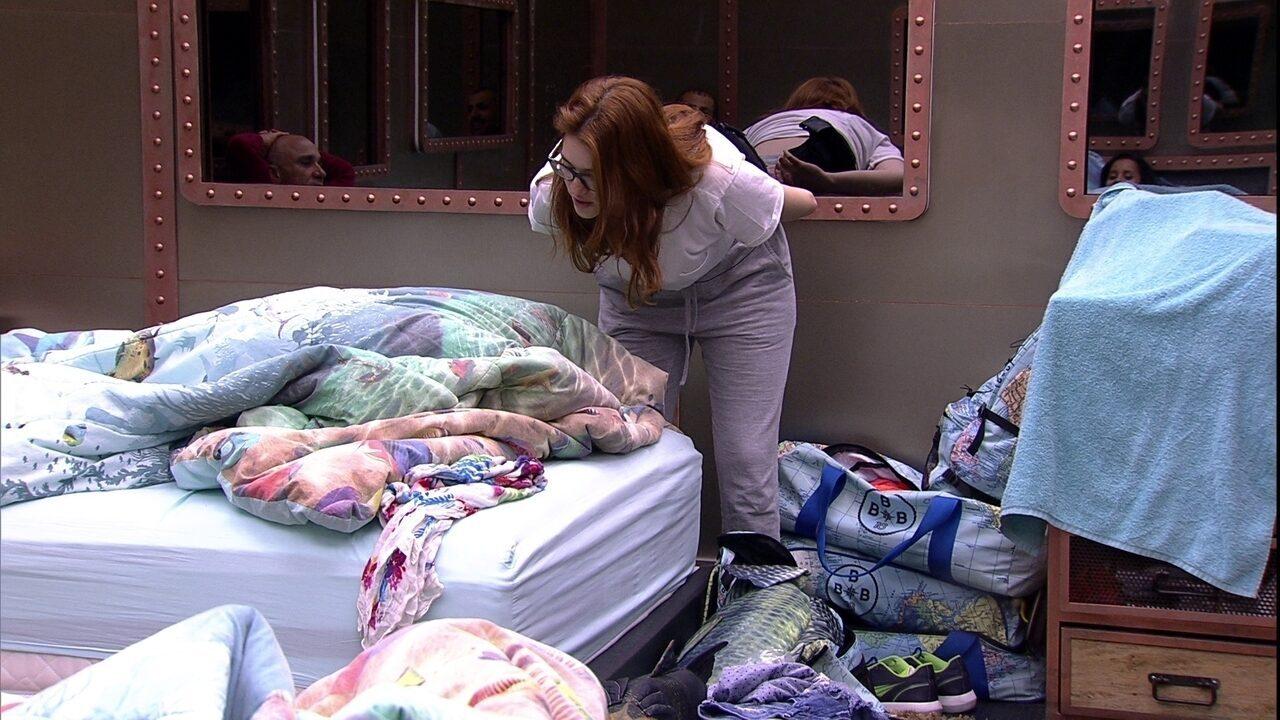 Ana Clara lembra situação com Ayrton e imita o pai