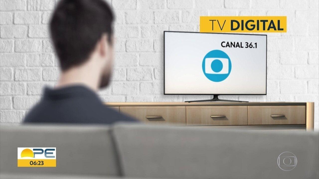 Canal da TV Globo muda em Bom Jardim no Agreste, a partir desta terça-feira (17)