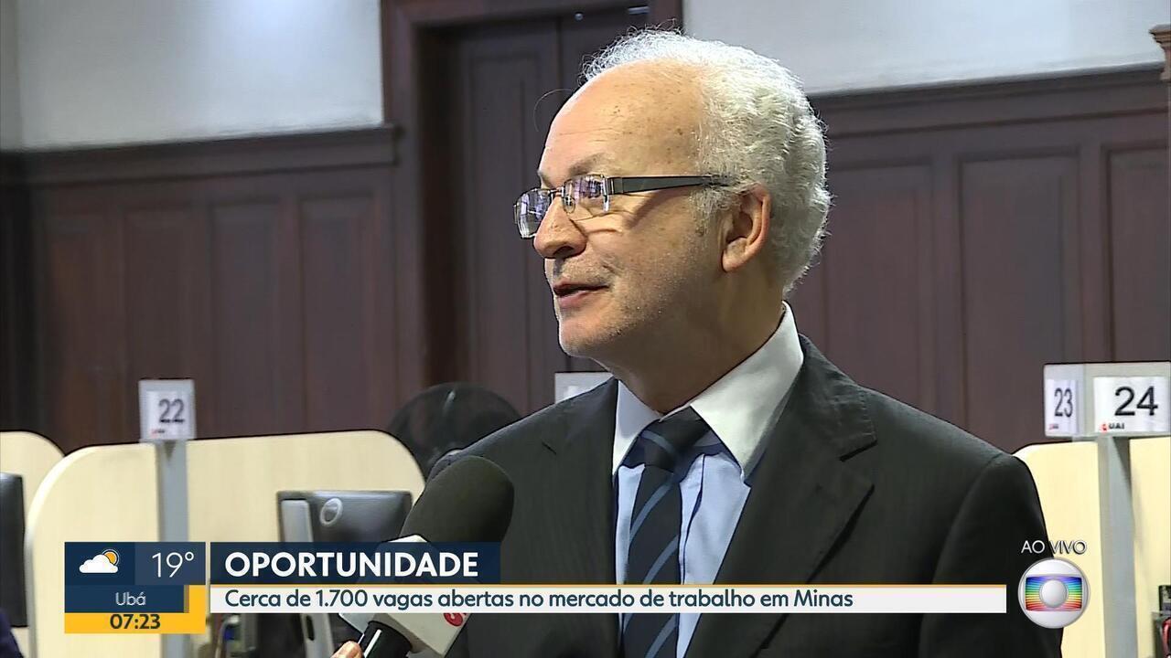 Sine de Minas Gerais oferece mais de 1,7 mil vagas de emprego