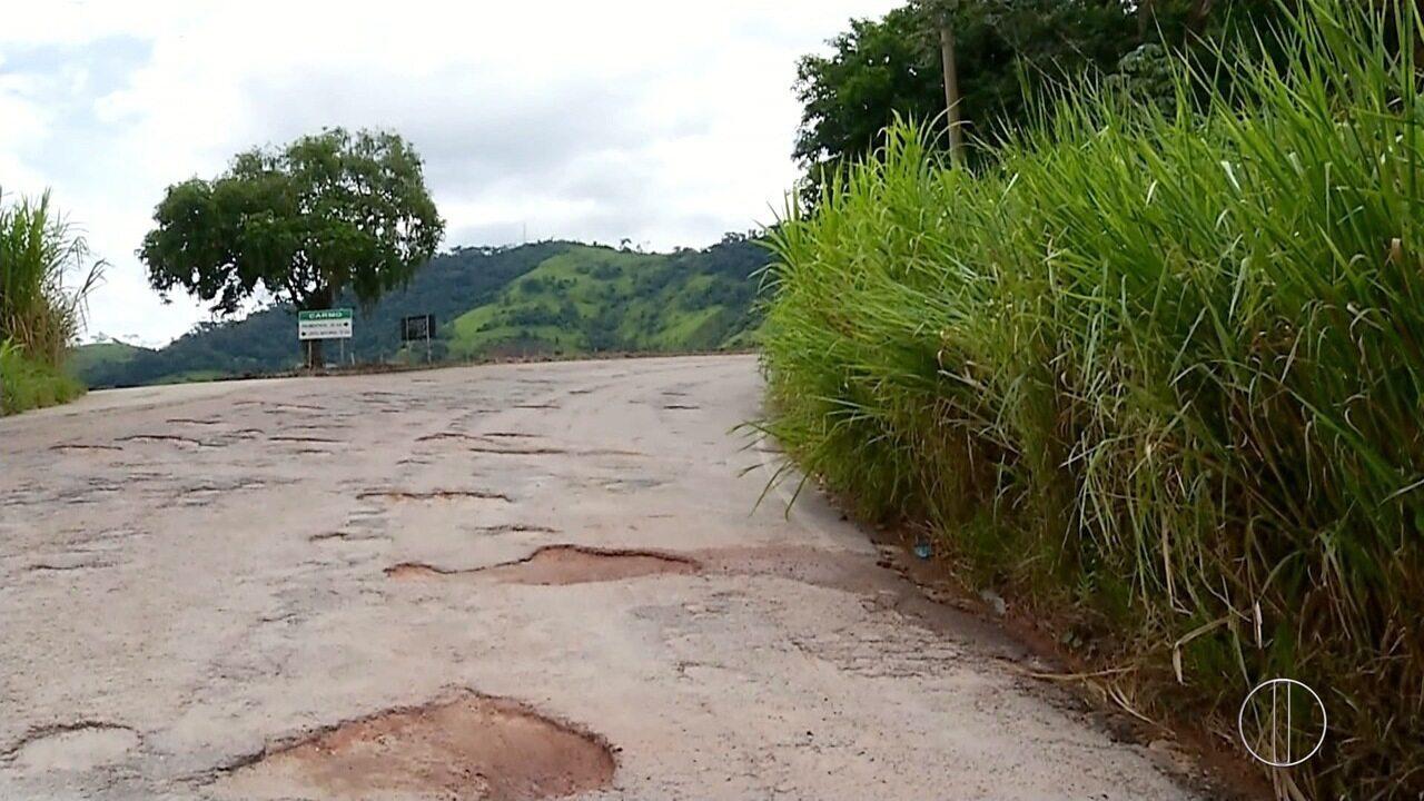 RJ-160, na Serra do Rio, apresenta infraestrutura precária; motoristas reclamam